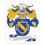 Bohorquez Coat of Arms Small Poster