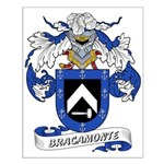 Bracamonte Coat of Arms Small Poster