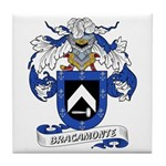 Bracamonte Coat of Arms Tile Coaster