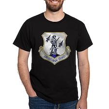 US Air National Guard Black T-Shirt