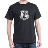 US Air National Guard Black T-Shirt