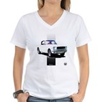 Mustang 1965 Women's V-Neck T-Shirt