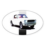 Mustang 1965 Oval Sticker (10 pk)