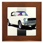 Mustang 1965 Framed Tile
