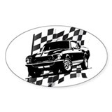 Mustang 1968 Oval Sticker (10 pk)