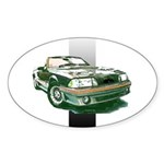 Mustang 1987 - 1993 Oval Sticker