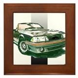 Mustang 1987 - 1993 Framed Tile