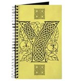 Celtic Letter Y Journal