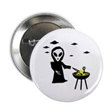 "bbq alien area 51 2.25"" Button (10 pack)"