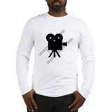 Hollywood Film Camera Long Sleeve T-Shirt