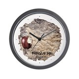 Forgive Me Wall Clock