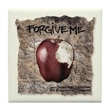 Forgive Me Tile Coaster