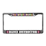 Dance Instructor License Plate Frame