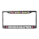 Choreographer Dance License Plate Frame