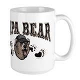 Papa Bear Father's Day Mug