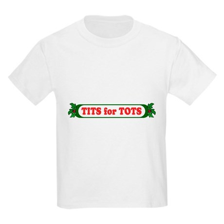 Tits for Tots Kids Light T-Shirt