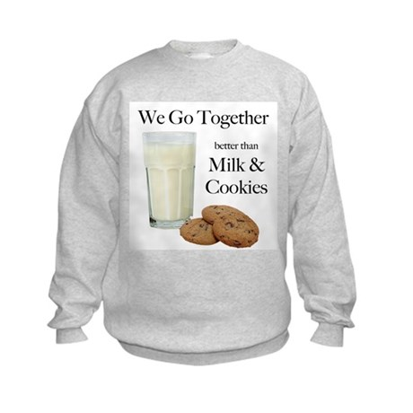 Milk & Cookies - Kids Sweatshirt