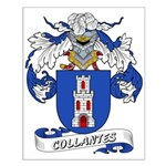 Collantes Coat of Arms Small Poster