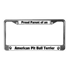 Proud Parent of a American Pi License Plate Frame