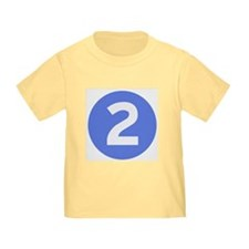 Age Two Toddler Tshirt