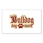 Bulldog Mom Sticker (Rectangle 50 pk)