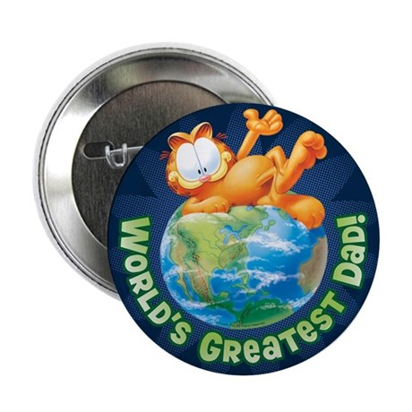 "World's Greatest Dad! 2.25"" Button"