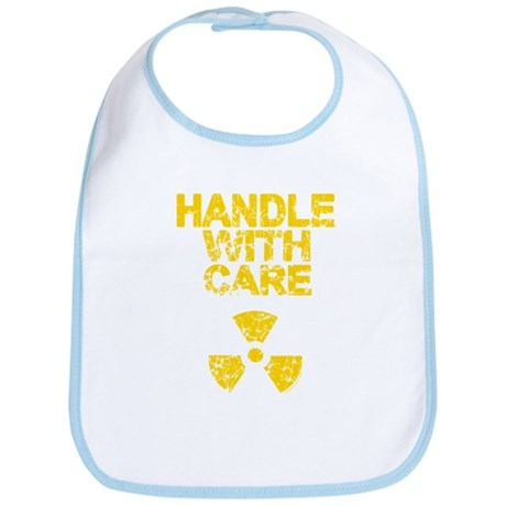 Handle With Care Bib