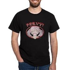 PERVY! Black T-Shirt