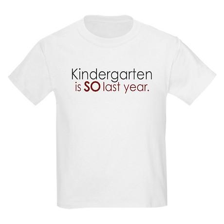Funny Kindergarten Grad Tee