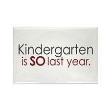 Funny Kindergarten Grad Rectangle Magnet (10 pack)
