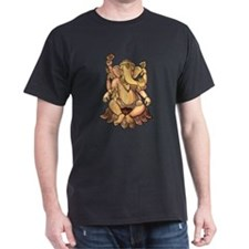 Vintage Ganesh Black T-Shirt