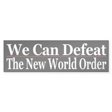 We Can Defeat the NWO
