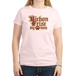 Bichon Frise Mom Women's Light T-Shirt