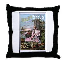 Dunlap's Seeds Throw Pillow