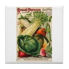 Richard Frotscher Seed Co. Tile Coaster