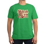 Shih Tzu Mom Men's Fitted T-Shirt (dark)