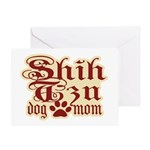 Shih Tzu Mom Greeting Card