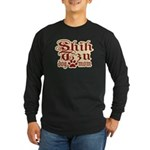Shih Tzu Mom Long Sleeve Dark T-Shirt
