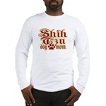 Shih Tzu Mom Long Sleeve T-Shirt