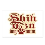 Shih Tzu Mom Postcards (Package of 8)