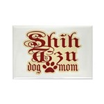 Shih Tzu Mom Rectangle Magnet