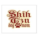 Shih Tzu Mom Small Poster