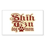 Shih Tzu Mom Sticker (Rectangle)
