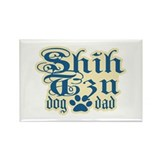 Shih Tzu Dad Rectangle Magnet
