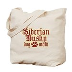 Siberian Husky Mom Tote Bag