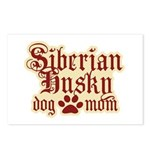 Siberian Husky Mom Postcards (Package of 8)