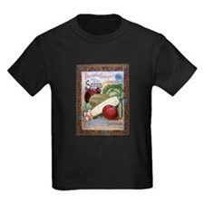 Wood Stubbs & Co Kids Dark T-Shirt