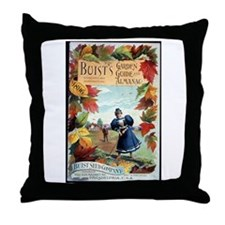 Buist's Garden Guide Throw Pillow