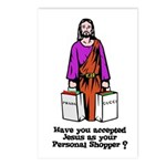 Have You Accepted Jesus as Yo Postcards (Package o
