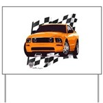 Mustang 2005 - 2009 Yard Sign